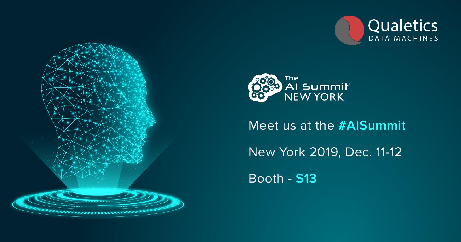 Meet Us at #AISummit, 2019, New York